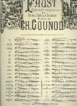 Charles Gounod - Hi Residence Chaste and Pure. Faust - Sheet Music - di-arezzo.co.uk