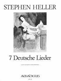Stephen Heller - 7 Deutsche Lieder - Sheet Music - di-arezzo.co.uk