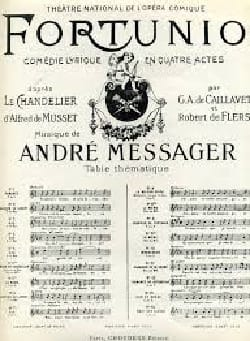 André Messager - When I was only a child. Fortunio - Sheet Music - di-arezzo.co.uk