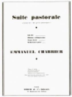Suite Pastorale CHABRIER Partition Piano - laflutedepan