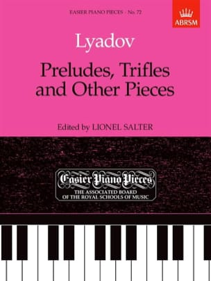 Anatoly Liadov - Preludes, Trifles And Other Pieces - Sheet Music - di-arezzo.com