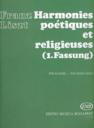 Franz Liszt - Poetic and Religious Harmonies 1st Version - Sheet Music - di-arezzo.com