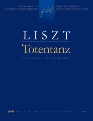 Franz Liszt - Totentanz - Partition - di-arezzo.fr