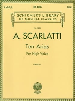 Alessandro Scarlatti - 10 Arias. Aloud - Sheet Music - di-arezzo.co.uk