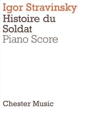 Histoire Du Soldat - STRAVINSKY - Partition - Piano - laflutedepan.com
