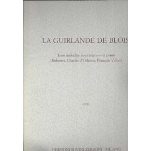 La Guirlande de Blois - Camillo Togni - Partition - laflutedepan.com