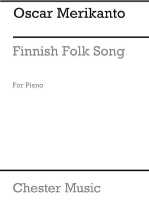 Finnish Folk Song Oskar Merikanto Partition Piano - laflutedepan