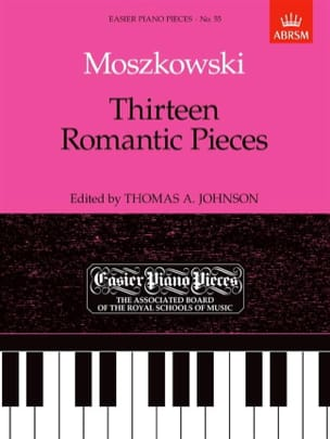 13 Romantic Pieces Moritz Moszkowski Partition Piano - laflutedepan