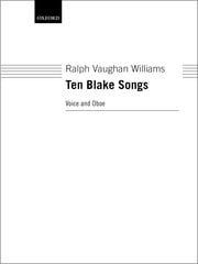 Williams Ralph Vaughan - 10 Blake Songs - Partition - di-arezzo.fr