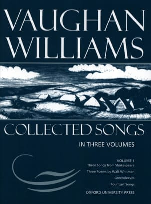 Williams Ralph Vaughan - Collected Songs Volume 1 - Partition - di-arezzo.fr
