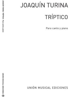 Triptico TURINA Partition Mélodies - laflutedepan