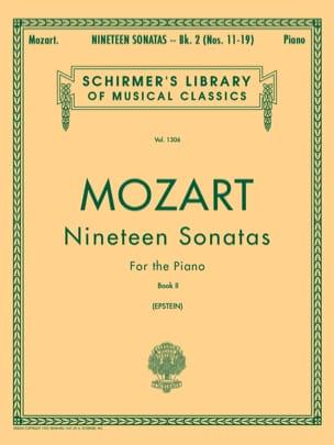 MOZART - 19 Sonates Volume 2 - Partition - di-arezzo.fr