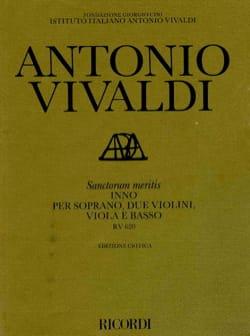 Sanctorium Meritis RV 620 - Antonio Vivaldi - laflutedepan.com