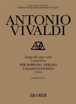 VIVALDI - Lungi Dal Vago Volto RV 680 - Partition - di-arezzo.fr