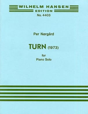 Norgard - Turn - Sheet Music - di-arezzo.com