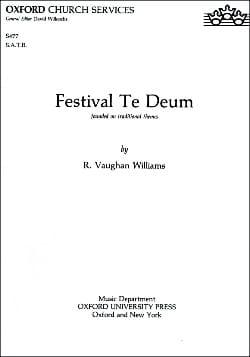 Festival te Deum - Williams Ralph Vaughan - laflutedepan.com