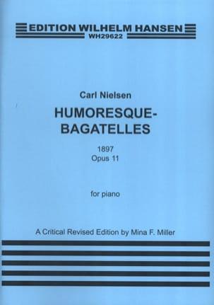 Carl Nielsen - Humoresque Bagatelles Op. 11 - Partition - di-arezzo.fr