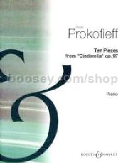 Sergei Prokofiev - 10 Pièces de Cendrillon Opus 97 - Partition - di-arezzo.fr