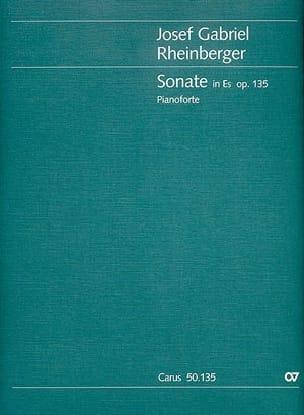 Sonate n° 3 Op. 135 RHEINBERGER Partition Piano - laflutedepan