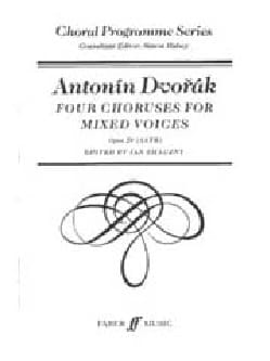 4 Choruses For Mixed Voices Opus 29 - Anton Dvorak - laflutedepan.com