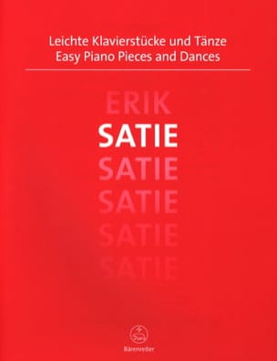 Easy Piano Pieces and Dances SATIE Partition Piano - laflutedepan
