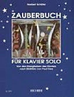 Norbert Schäfer - Zauberbuch - Partition - di-arezzo.fr
