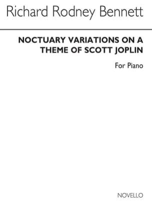 Noctuary - Richard Rodney Bennett - Partition - laflutedepan.com