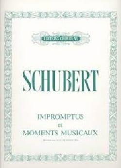 SCHUBERT - Impromptus y Momentos Musicales. - Partitura - di-arezzo.es