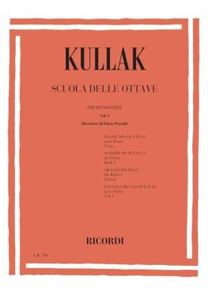 Scuola Delle Ottave Volume 1 Theodor Kullak Partition laflutedepan