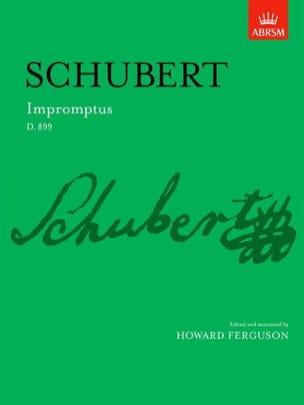 Impromptus D 899 Op. 90 SCHUBERT Partition Piano - laflutedepan