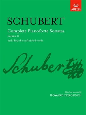 Sonates Vol 2 - SCHUBERT - Partition - Piano - laflutedepan.com