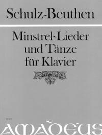 Schulz-Beuthen - Minstrel-Lieder Und Tänze - Partition - di-arezzo.fr