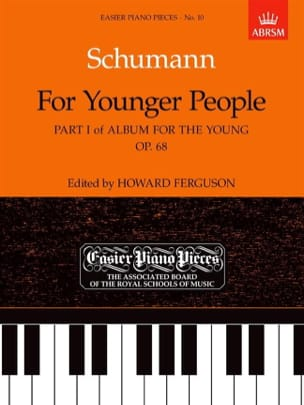 Schumann - Album For The Young Op. 68 1ère Partie - Partition - di-arezzo.fr