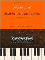 SCHUMANN - 16 Albumleaves From Op. 99 - 124 - Sheet Music - di-arezzo.com
