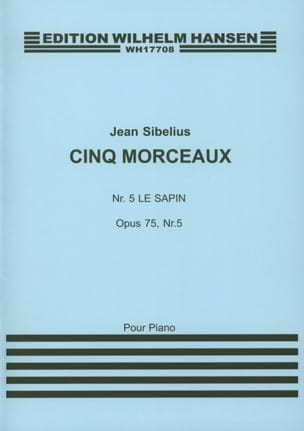 Jean Sibelius - The Opus Fir 75-5 - Sheet Music - di-arezzo.co.uk