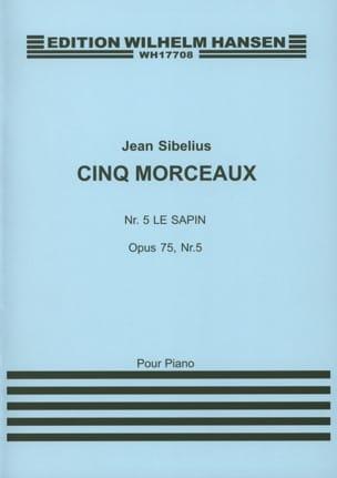 Jean Sibelius - Le Sapin Opus 75-5 - Partition - di-arezzo.fr