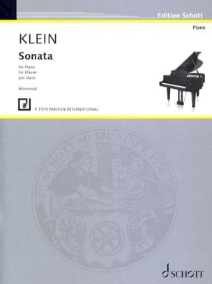 Sonata Pro Klavir - Gideon Klein - Partition - laflutedepan.com