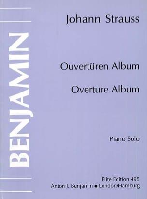 Johann fils Strauss - Ouvertüren Album - Partition - di-arezzo.fr