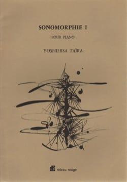 Sonomorphie 1 Yoshinisa Taïra Partition Piano - laflutedepan