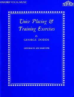 Dodds - Voice Placing And Training Exercises. Deep voice - Sheet Music - di-arezzo.com
