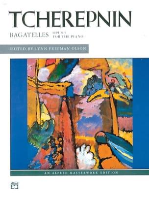 Bagatelles Op. 5 Alexandr Tcherepnine Partition Piano - laflutedepan