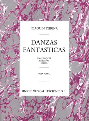 Joachim Turina - Danzas Fantasticas Opus 22 - Sheet Music - di-arezzo.co.uk