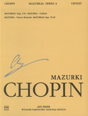 CHOPIN - Mazurkas - Sheet Music - di-arezzo.co.uk