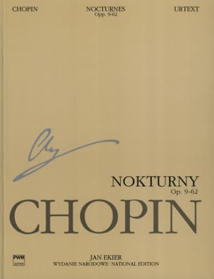 CHOPIN - Nocturnes Opus 9 A 62 - Sheet Music - di-arezzo.co.uk
