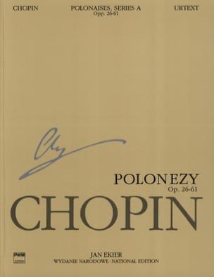 Polonaises. Série A - CHOPIN - Partition - Piano - laflutedepan.com