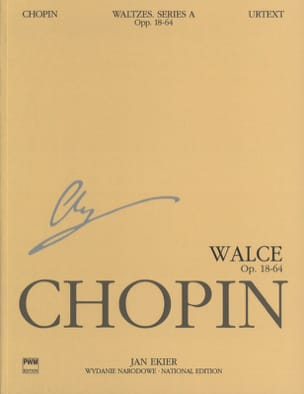 Frédéric Chopin - Valses. Serie A. - Partition - di-arezzo.fr