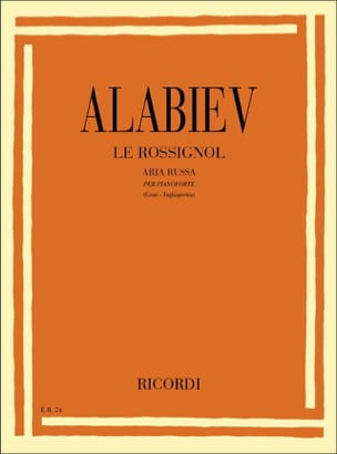 Alabiev Alexandre / Liszt Franz - The Nightingale - Sheet Music - di-arezzo.com