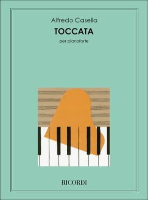Toccata Alfredo Casella Partition Piano - laflutedepan