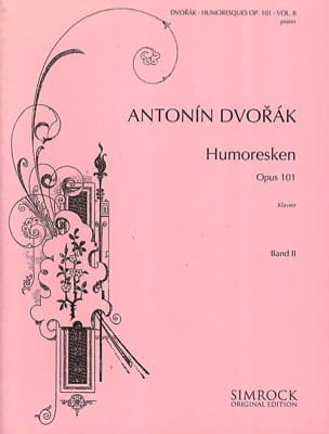 Dvorak - 8 Valses Op. 54 - Partition - di-arezzo.fr