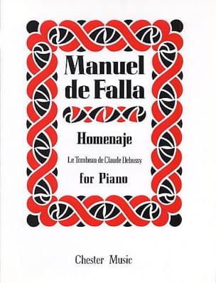 DE FALLA - Homenaje - Sheet Music - di-arezzo.co.uk